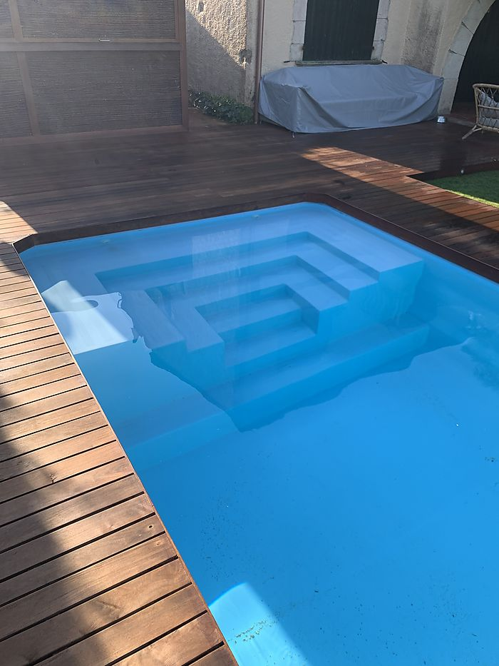 Piscina Rectangular L600