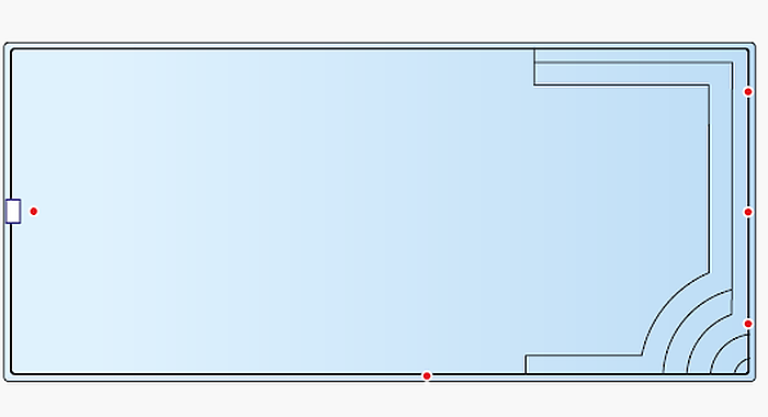 Piscina Rectangular L1000
