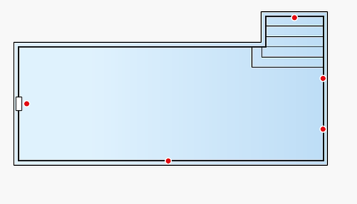 Piscina Rectangular P801