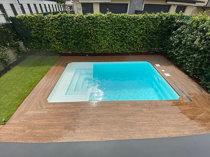 Piscina Rectangular L500